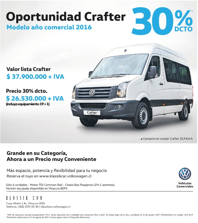 Oportunidad Crafter